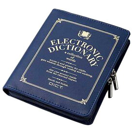 エレコム 電子辞書ケース DICT. デザイン/ブルー DJC-021LBU [DJC021LBU]