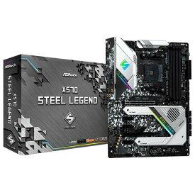 ASROCK ASRock SocketAM4 AMD X570 ATX マザーボード X570 Steel Legend X570 STEEL LEGEND [X570STEELLEGEND]