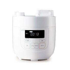 シロカ 電気圧力鍋(スロー調理機能なし) ホワイト SP-D121(W) [SPD121W]【ARPP】