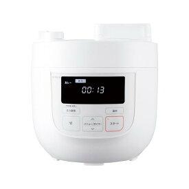 シロカ 電気圧力鍋(スロー調理機能なし) ホワイト SP-4D131(W) [SP4D131W]【NATUM】