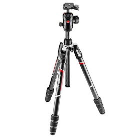 Manfrotto カーボンT三脚キット befree GT black/silver MKBFRTC4GT-BH [MKBFRTC4GTBH]