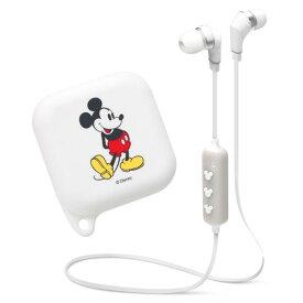 PGA BluetoothR 4.1搭載 ワイヤレスステレオイヤホン シリコンポーチ付き[ミッキーマウス] ホワイト PG-BTE1SD02MKY [PGBTE1SD02MKY]