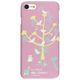 Happymori iPhone8/7用Bird Tree パープル HM8222I7 [HM8222I7]