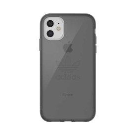 Adidas iPhone 11用OR Protective Clear Case Big Logo FW19 smokeyblack 36414 [36414]