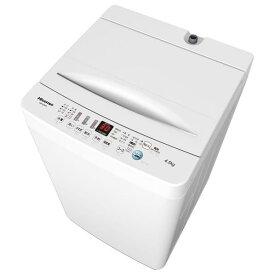 ハイセンス 4.5kg全自動洗濯機 オリジナル ホワイト HW-E4503 [HWE4503]【RNH】【IMPP】