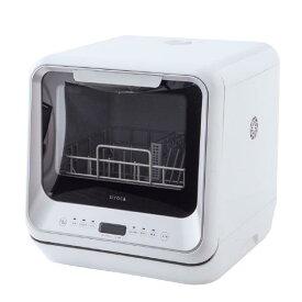 シロカ 食器洗い乾燥機 ホワイト/シルバー SS-M151 [SSM151]
