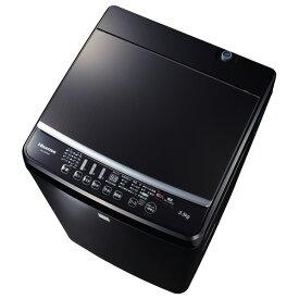 ハイセンス 5.5kg全自動洗濯機 keyword マットブラック HW-G55E7KK [HWG55E7KK]【RNH】【IMPP】