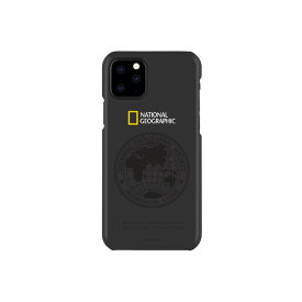 National Geographic iPhone 11 Pro用ケース Global Seal Slim Fit Case ブラック NG17132I58R [NG17132I58R]