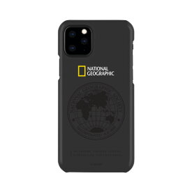National Geographic iPhone 11 Pro Max用ケース Global Seal Slim Fit Case ブラック NG17188I65R [NG17188I65R]