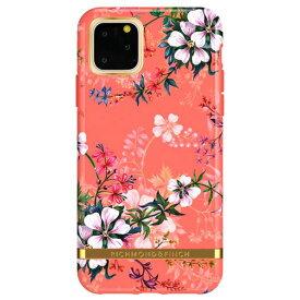 Richmond & Finch iPhone 11 Pro用FREEDOM CASE フローラル Coral Dreams RF17980I58R [RF17980I58R]