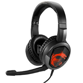 MSI ゲーミングヘッドセット Immerse GH30 ブラック IMMERSEGH30HEADSET [IMMERSEGH30HEADSET]