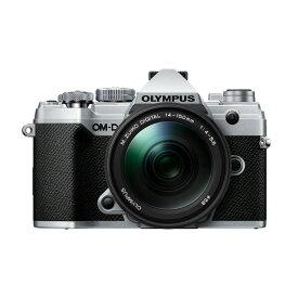 オリンパス デジタル一眼カメラ・14-150mm II レンズキット OM-D シルバー E-M5MK3LK14150KIT SLV [OMDEM5MK3LK14150SLV]【RNH】
