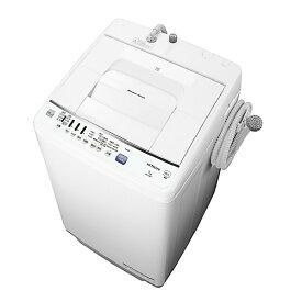 日立 7.0kg全自動洗濯機 keyword 白い約束 キーワードホワイト NW-Z70E7 KW [NWZ70E7KW]【RNH】【IMPP】