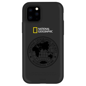 National Geographic iPhone 11 Pro Max用ケース Global Seal Double Protective Case ブラック NG17189I65R [NG17189I65R]