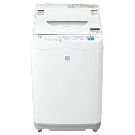 シャープ 5.5kg全自動洗濯機 keyword キーワードホワイト EST5E7KW [EST5E7KW]【RNH】