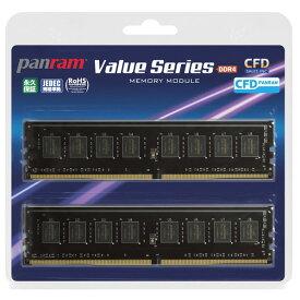 CFD DDR4-3200 デスクトップ用メモリ 288pin DIMM 16GB 2枚組 Panram W4U3200PS-16G [W4U3200PS16G]【SDSP】