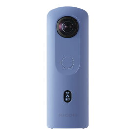 リコー 360°全天球カメラ THETA SC2 ブルー THETASC2BLUE [THETASC2BL]