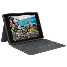 ロジクール iPad(第7世代)用キーボード一体型ケース RUGGED FOLIO IK1054BKA [IK1054BKA]【NATUM】