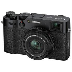 富士フイルム デジタルカメラ X100シリーズ ブラック FX100VB [FX100VB]【RNH】