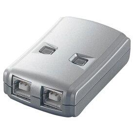 エレコム USB2.0手動切替器 USS2-W2 [USS2W2]