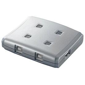 エレコム USB2.0手動切替器 USS2-W4 [USS2W4]