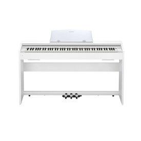 カシオ 電子ピアノ Privia スタイリッシュモデル ホワイトウッド調 PX-770WE [PX770WE]