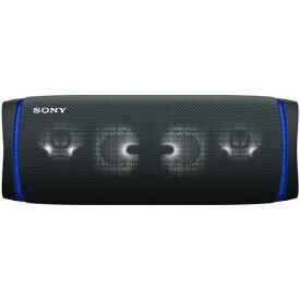 SONY ワイヤレスポータブルスピーカー ブラック SRSXB43B [SRSXB43B]【RNH】