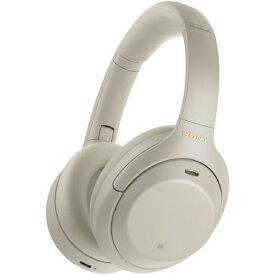 SONY ワイヤレスノイズキャンセリングステレオヘッドセット プラチナシルバー WH1000XM4S [WH1000XM4S]【RNH】