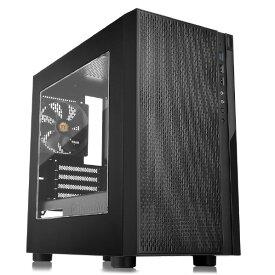 Thermaltake ミニタワー型PCケース Versa H18 -Window- ブラック CA-1J4-00S1WN-00 [CA1J400S1WN00]