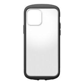 PGA iPhone 12/12 Pro用ガラスタフケース ラウンド型 Premium Style ブラック PG-20GGT01BK [PG20GGT01BK]