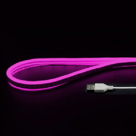 JTT USBネオンチューブライト (2m) ピンク NEONLT2M-PK [NEONLT2MPK]