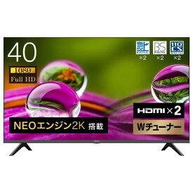 ハイセンス 40V型フルハイビジョン液晶テレビ A30Gシリーズ 40A30G [40A30G]【RNH】【MMPT】