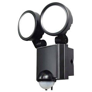 エルパ 屋外用LEDセンサーライト AC電源 8W LED 2灯 ESL-SS802AC [ESLSS802AC]【MMPT】