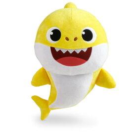 """アガツマ 18"""" Plush Doll - Baby Shark BS ぬいぐるみ ベイビーシャーク(L)メロディ付き ヌイグルミベイビ-シヤ-クLメロデイ [ヌイグルミベイビ-シヤ-クLメロデイ]"""