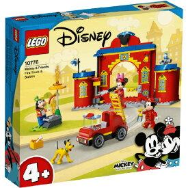 レゴジャパン LEGO ディズニー 10776 ミッキー&フレンズの しょうぼうしょ 10776ミツキ-フレンズノシヨウボウシヨ [10776ミツキ-フレンズノシヨウボウシヨ]