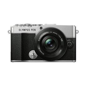 オリンパス デジタル一眼カメラ・14-42mm EZ レンズキット OLYMPUS PEN シルバー E-P7LKSLV [EP7LKSLV]【RNH】