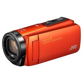 JVCケンウッド 64GB内蔵メモリー デジタルハイビジョンビデオカメラ Everio R オレンジ GZ-RX690-D [GZRX690D]【RNH】
