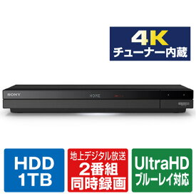 SONY 1TB HDD内蔵ブルーレイレコーダー BDZ-FBW1000 [BDZFBW1000]【RNH】【JNMP】