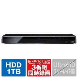 東芝映像ソリューション 1TB HDD内蔵ブルーレイレコーダー【3D対応】 レグザブルーレイ ブラック DBR-T1009 [DBRT1009]【RNH】