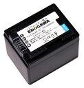 EDOGAWA CANON キャノン BP-727対応互換バッテリー iVIS HF M52 M51 R42 R41 R32 R31 R30など対応 (ED-BAT)