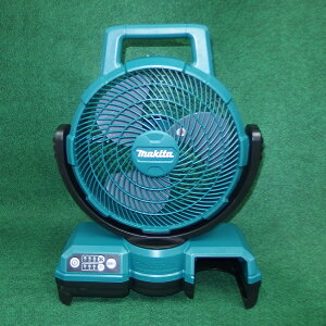 マキタ CF202DZ 10.8V 自動首振機能付充電式ファン 羽根径235mm バッテリ・充電器別売 青 新品 扇風機