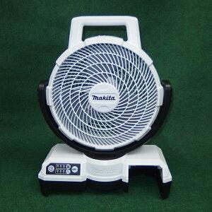 マキタ CF203DZW 14.4V/18V 自動首振機能付充電式ファン 羽根径235mm バッテリ・充電器別売 白 風速アップ 新品 扇風機