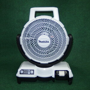 マキタ CF203DZW+BL1850B+DC18SD 18V自動首振機能付充電式ファン 羽根径235mm 5.0Ahバッテリ・充電器付セット 白 新品 風速アップ 扇風機