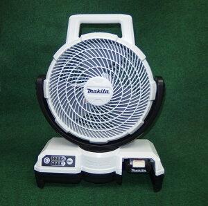 マキタ CF202DZW+BL1015+DC10SA 10.8V 自動首振機能付充電式ファン 羽根径235mm 白 1.5Ahバッテリ・充電器付セット 新品 扇風機