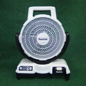 マキタ CF202DZW+BL1040B+DC10SA 10.8V 自動首振機能付充電式ファン 羽根径235mm 白 4.0Ahバッテリ・充電器付セット 新品 扇風機【プロ用からDIY、園芸まで。道具・工具のことならプロショップe-道具館