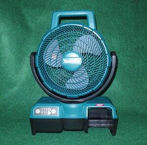 マキタ CF100GZ 40Vmax 自動首振機能付充電式ファン 羽根径235mm 本体のみ バッテリ・充電器別売 青 風速アップ 新品 扇風機【プロ用からDIY、園芸まで。道具・工具のことならプロショップe-道具