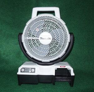 マキタ CF100GZW 40Vmax 自動首振機能付充電式ファン 羽根径235mm 本体のみ バッテリ・充電器別売 白 風速アップ 新品 扇風機【プロ用からDIY、園芸まで。道具・工具のことならプロショップe-道具