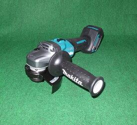 マキタ GA002GZ 40Vmax-125mm充電式ディスクグラインダ スライドスイッチタイプ 本体のみ バッテリ・充電器別売 新品