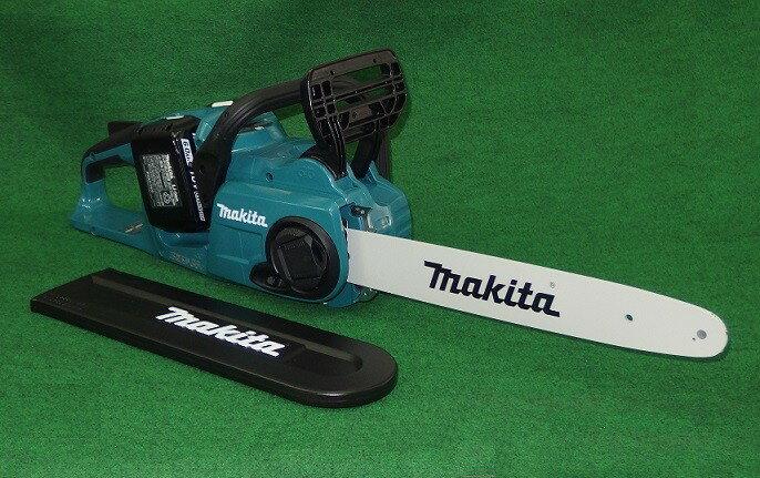 送料無料 マキタ MUC353DPG2 18Vx2=36V 350mm充電式チェーンソー 91PXチェ−ン刃付 青 6.0Ah 新品