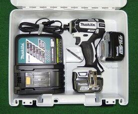 マキタ TD138DRFXW 14.4V防塵防滴インパクトドライバー フルセット 白 新品